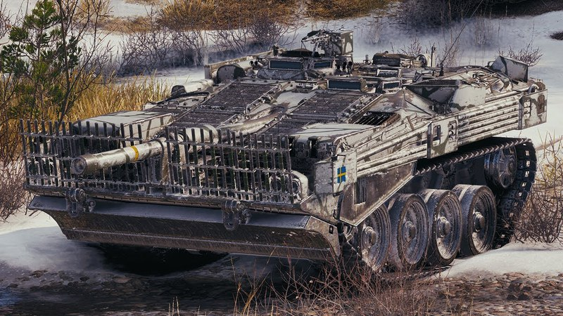 World of Tanks Strv 103B - 4 Kills 10,4K Damage