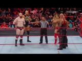 WWE Monday Night RAW 10.04.2017 - The Hardy Boyz, Cesaro &amp Sheamus vs. Luke Gallows, Karl Anderson &amp The Shining Stars