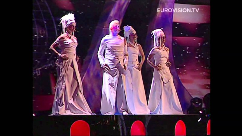Jonatan Cerrada - A Chaque Pas (France) 2004 Eurovision Song Contest
