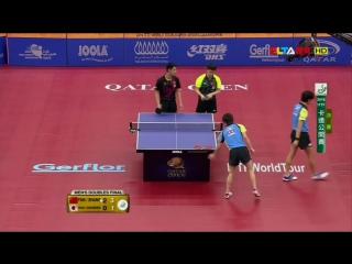 Парная игра: Fan Zhendong, Zhang Jike VS Niwa Koki, Yoshimura Maharu