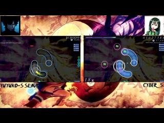 OSU! - KANA-BOON - Silhouette yuyuko-s slave and Cyber_S