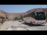 Выезд автобусов, с боевиками, из района Барза на северо-востоке столицы Дамаск в направлении к Идлибу