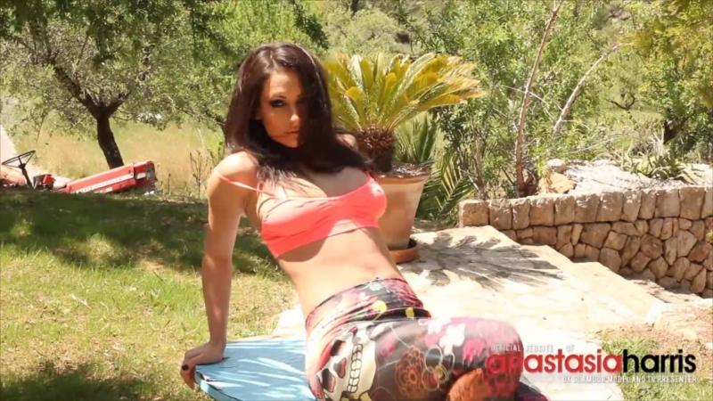 All natural tits - Anastasia Harris striptease 44
