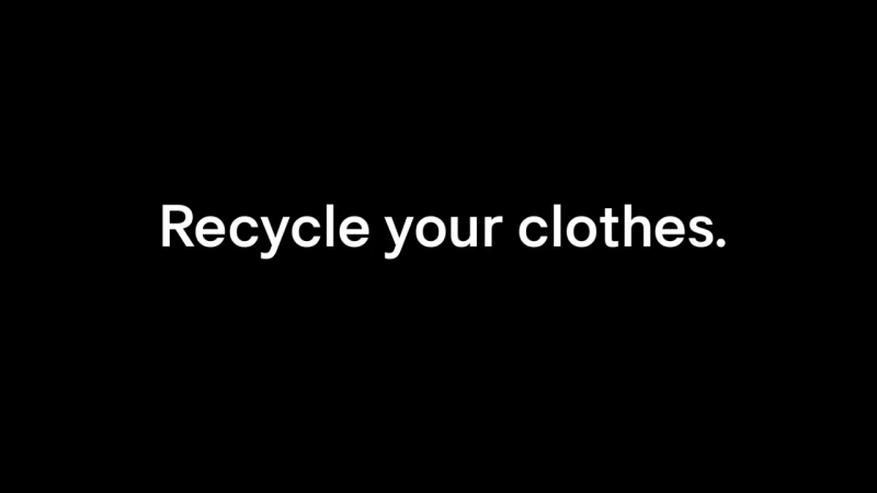 HM Close the Loop – Sustainable fashion through recycled clothes