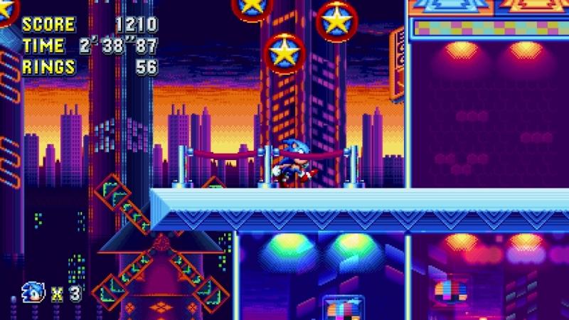 Sonic Mania Stuiopolis akt 1