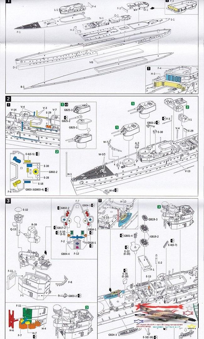 FLYHAWK MODEL 1/700 FH1109 HMS PENELOPE 1940 DELUKE EDITION – FULL ...