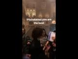Прощальная вечеринка, организованная командой фильма «Назови меня своим именем» для своих фанатов (Крема, Италия; 30.01.2018)