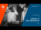 UNINC  KOLOMENSKY (megapolis 89.5 fm программа ИДА) /tech house/ @ Pioneer DJ TV   Moscow