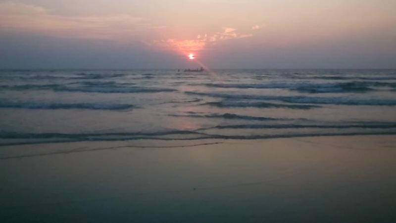 Morjim Beach(India, Goa) Sanset