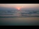 Morjim Beach India Goa Sanset