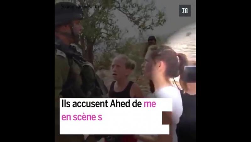 À 17 ans cette militante palestinienne vient d'être arrêtée après avoir été accusée d'avoir agressé deux soldats israéliens