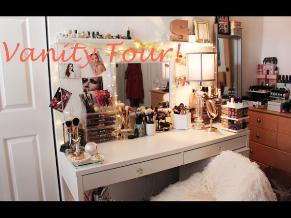Vanity Tour| Makeup Collection| Makeup Storage
