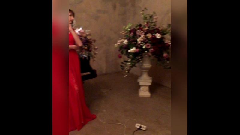 Backstage платье черное в010 и красное в011