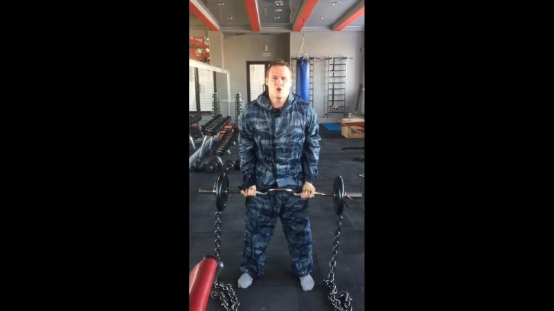Виталий Шеметов 🥋🇷🇺🇷🇺🇷🇺Силовая тренировка