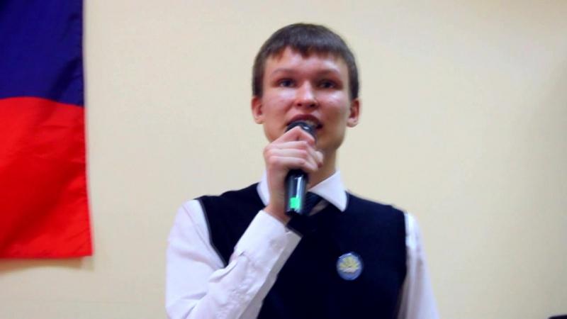 Игнат Сорокин 10-А. Я - гражданин, я - будущий избиратель