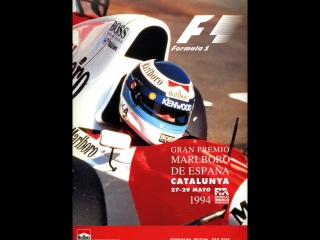 F1 1994. 05. гран-при испании, гонка
