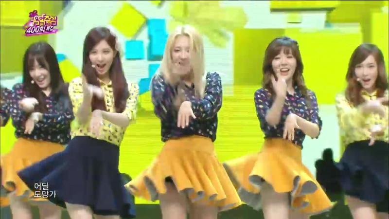 【TVPP】SNSD - Wait a minute, 소녀시대 - 웨잇 어 미닛 @ Comeback Stage, Show Music core Liv