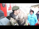 Долгожданное возвращение солдата домой!