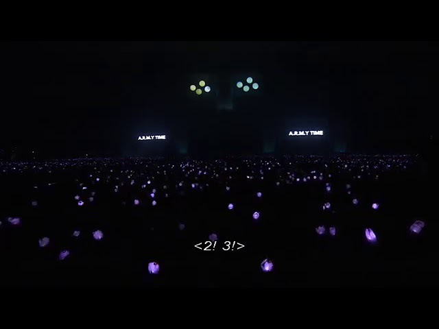 BTS 2 3 Purple ocean project by Army and BTS reaction to it