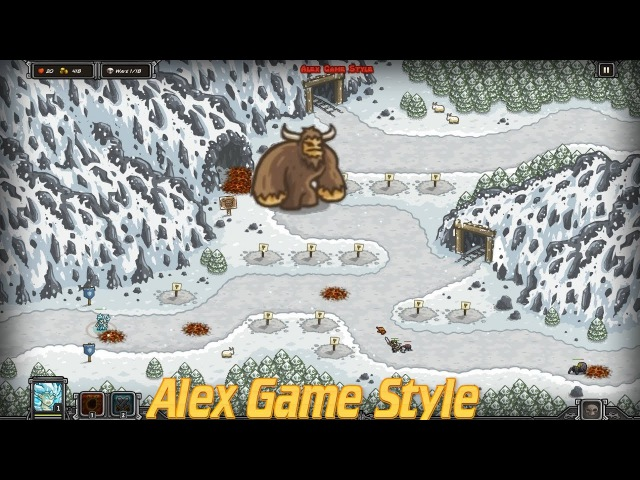 Kingdom Rush HD || Like A Henderson || Free the Sasquatch on the Icewind Pass