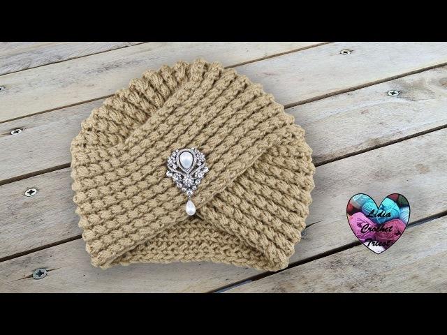 Turban Tricot magnifique super tendance