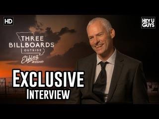 Martin McDonagh - Three Billboards Outside Ebbing Missouri Exclusive Interview