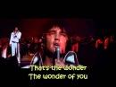 Elvis Presley The Wonder Of You with lyrics