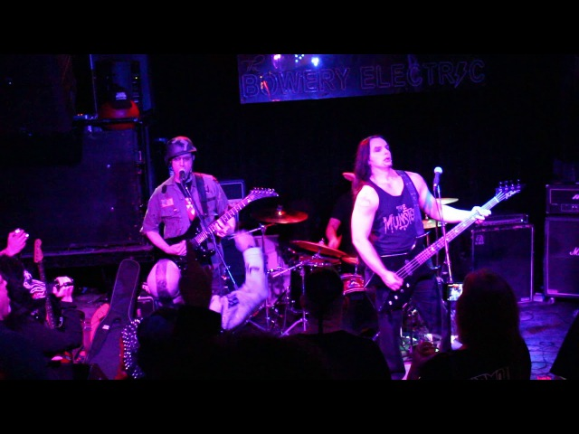 CARNIVORE A.D. Live @ Bowery Electric 10-31-17 '' CARNIVORE ''