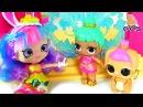 ДЕВОЧКА КОТОРАЯ ЛЮБИЛА ПРАЗДНИКИ Мультфильм Шопкинс на Русском Игрушки с My Toys Pink