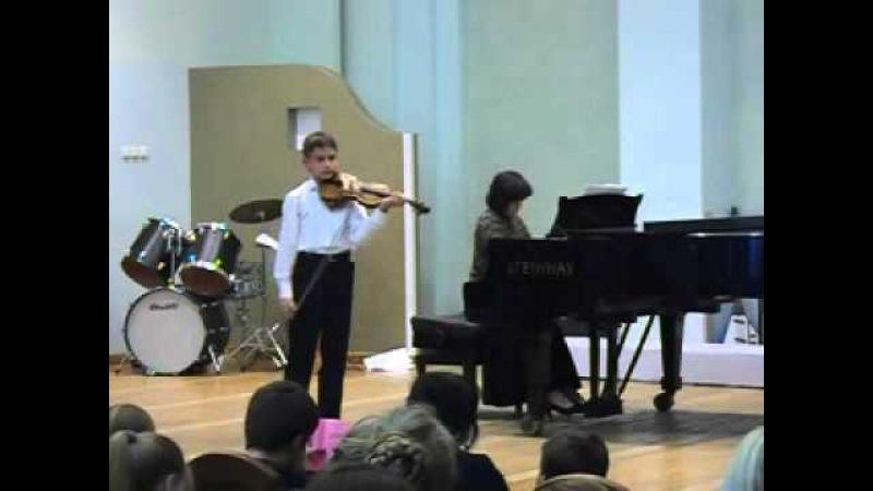 O.Riding Concertino op.5 (О. Ридинг Концертино D-dur. op.5)