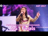 Finals Angelica Hale Absolutely Amazing Symphony &Comments America's Got Talent 2017 Finale