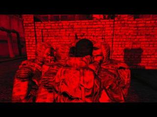 S.T.A.L.K.E.R. Lost Alpha - Сталкеры попали под выброс xD