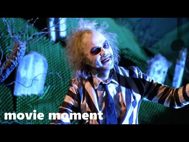 Битлджус (1988) - Шоу начинается! (10/11) | movie moment