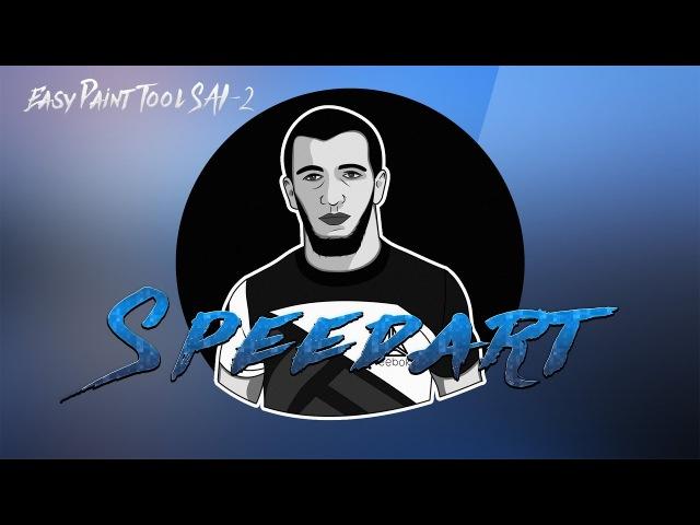 SpeedArt Easy Paint Tool SAI 2 by Sally