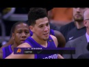 Devin Booker is ejected after shoving Enes Kanter