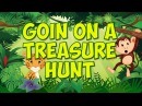 Goin' On A Treasure Hunt | Brain Body Builder | Brain Breaks | Fun Kid's Song | Jack Hartmann