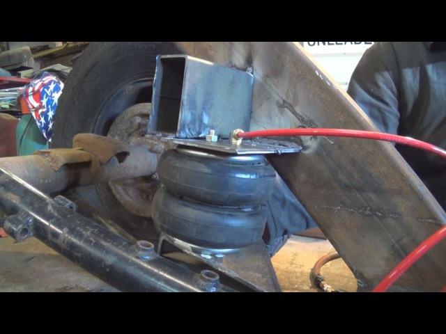 LA Rat Rod Build Episode 16 air suspension 4