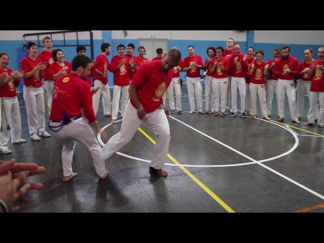 Abalou capoeira. Saturday final roda. CDO Milan