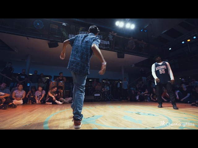 Free Spirit Festival 2017 MUSICOLOGY Yugson vs Anyway Native Drums - 1/4 Final