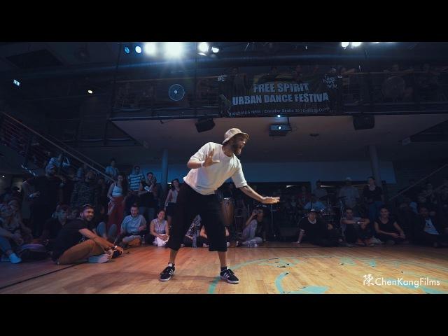 Free Spirit Festival 2017 MUSICOLOGY Robozee vs St.Preux Funk - 1/2 Final