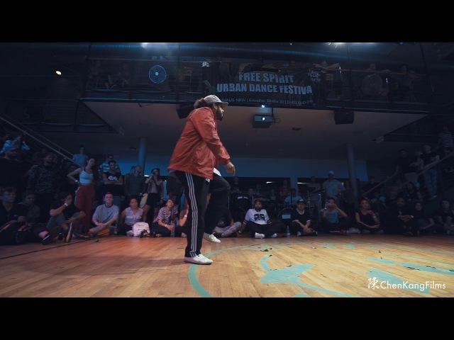 Free Spirit Festival 2017 MUSICOLOGY Dalil vs Groofy Funk - 1/2 Final