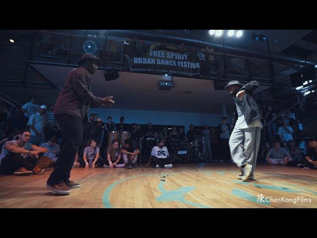 Free Spirit Festival 2017 MUSICOLOGY Groofy vs Dimension Funk - 1/4 Final