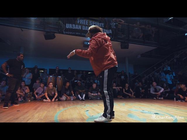 Free Spirit Festival 2017 MUSICOLOGY Dalil vs Trouble/ Hype n Buck - 1/2 Final