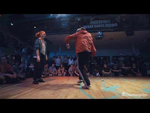 Free Spirit Festival 2017 MUSICOLOGY Dalil vs Jade Hype n Buck - 1/4 Final