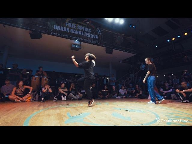 Free Spirit Festival 2017 MUSICOLOGY Kamilla LIL K vs Valentina Native Drums - 1/4 Final