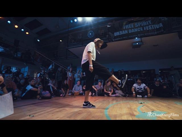 Free Spirit Festival 2017 MUSICOLOGY Robozee vs Katya Joy Funk - 1/4 Final