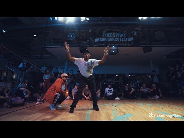Free Spirit Festival 2017 MUSICOLOGY Dalil vs Fonky Ninja Funk - 1/4 Final