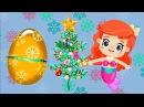 Новогодние мультики - Русалочка Бибабу и ее друзья - Наряжаем ёлочку