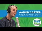 Aaron Carter Gets Emotional Over Nicks Silent Treatment Elvis Duran Interview Highlight - YouTube
