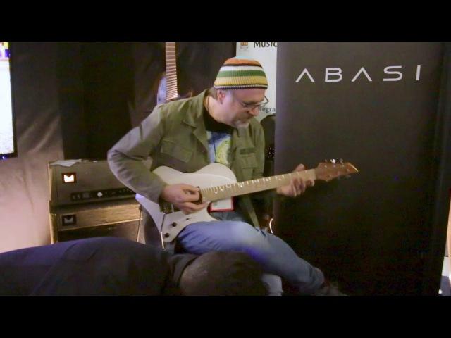 Greg Koch Demo at Abasi Guitars - NAMM 2018 | GEAR GODS